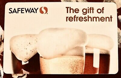 Safeway Gift Card $25 I Include Free Shipping!