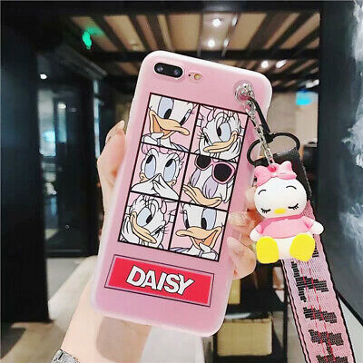 Donald 3D Doll Cartoon Disney Phone Case TPU Cover For iPhone X 8 7 6/6S Plus
