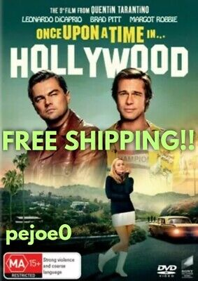 Once Upon A Time In Hollywood DVD Reg 4 FREE POST! (2019) New!