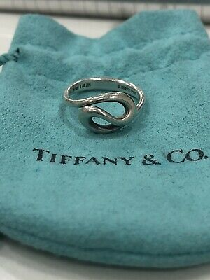 Tiffany & Co. Elsa Peretti 925 Sterling Silver Ring Spain