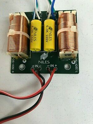 1 x NILES OS-10SI Crossover for Dual Voice Coil Woofer and two tweeters