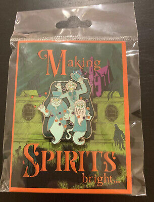 NEW Disney Parks LE Pin Haunted Mansion Making Spirits Bright Hitchhiking Ghosts