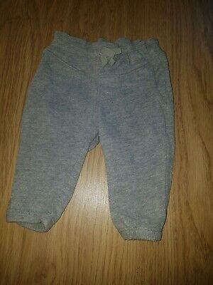 Girls Baby GAP Grey jogging trousers...0-3 months