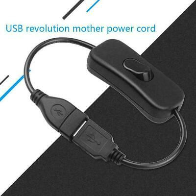 Set Raspberry USB Cable With ON / OFF Power Control Durable C9O5