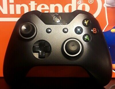 Official Microsoft Black Xbox One Wireless Controller. Tested! Nice Shape!