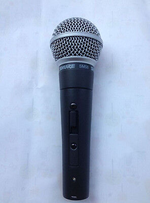 used SHURЕ SM58 with Switch(on---off) Mic Dynamic Vocal Microphone SM58