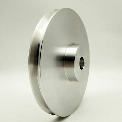 V-Groove Flat Pulley Select Size 30mm Diameter 3 to 15mm Bore