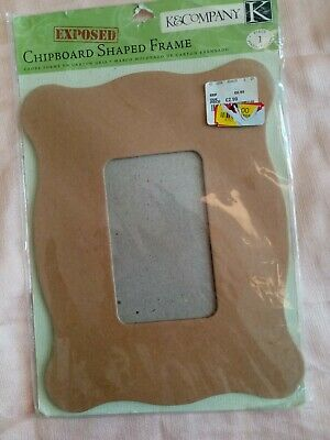 """K&Company Chipboard Frame For Crafting 8.5"""" x 7"""""""