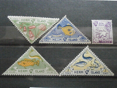 Herm Island stamps mint some hinged