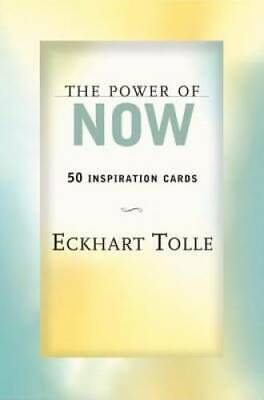 The Power of Now: 50 Inspiration Cards by Tolle, Eckhart