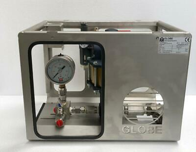 Globe Test Equipment Apu Sc-10-5-5 Pneumatic Air Pressure Test Pump 35 Bar Uu
