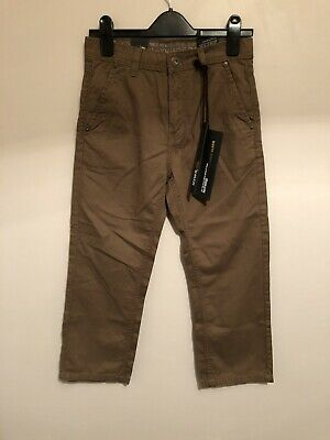 """Haywire Benchino Boys Chino Trousers W25"""" BNWT Rrp £29.99 New Casual"""