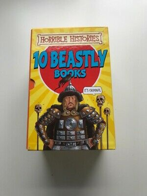 Horrible Histories -   10 beastly book collection