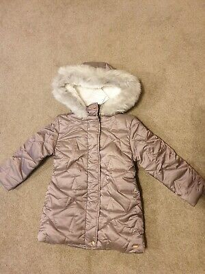 BNWT Mothercare Girls 3-4 Years Winter Coat