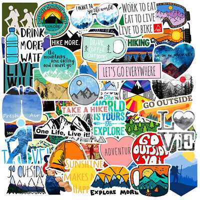 50pcs Funny Skateboard Stickers Vinyl Laptop Luggage Decal Dope Sticker lot cool