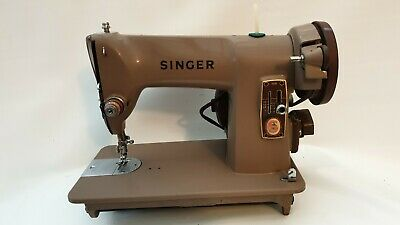 Singer 185k Heavy Duty Mini Sewing Machine + Base and Extras