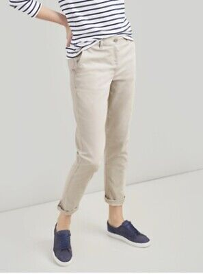 Joules Hesford Chinos Ivory Size UK 14 New With Tags RRP £46 plus p&p