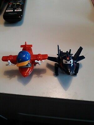 Disney Pixar Cars Mini Micro Racers Drifters PLANES X 2 Collectors!