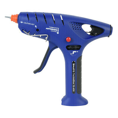 SMATO IRODA Thermoglue TG-600 Cordless Gas Rechargeable Glue Gun Refilled LEC
