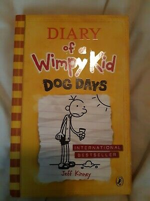 Diary of a Wimpy Kid: Dog Days (Book 4), Kinney, Jeff, Very Good Book