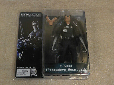 "NECA Judgement Day TERMINATOR 2 ~ T-1000 PESCADERO HOSPITAL 7"" Action Figure"