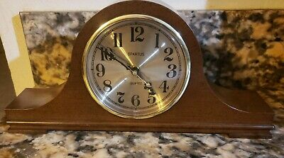 """SPARTUS BATTERY MANTLE CLOCK 14 """"large high 6"""