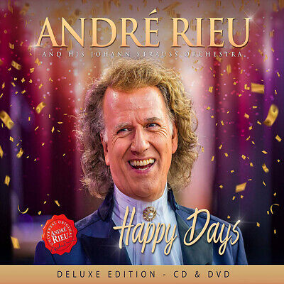 Andre Rieu & His Johann Strauss Orchestra- Happy Days *Deluxe Edition CD + DVD*