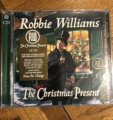 Robbie Williams, The Christmas Present - The New Album (2xCD) *NEW + SEALED*