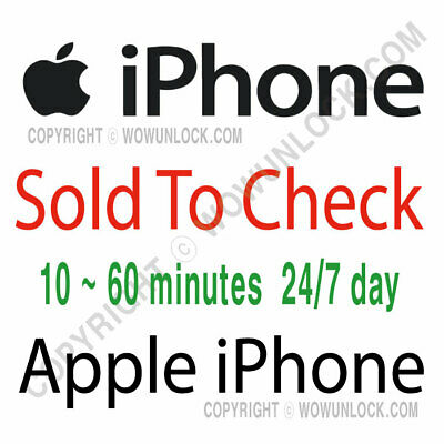 Apple iPhone Carrier Check Report: SOLD by / SIM Lock Status Service Mini GSX