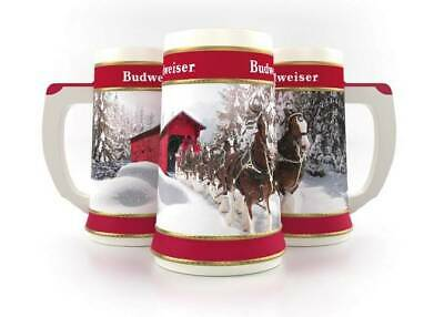 NIB Collectible 2019 Budweiser Holiday Stein w/certificate