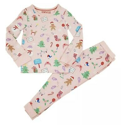 Christmas Pjs Pyjamas Marks And Spencer M&s 18-24 Months