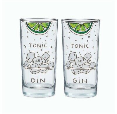 Gin And Tonic Diagram Highball Glasses