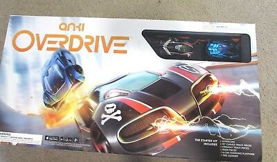 Anki Overdrive Starter Kit Super Car Battle Tracks Racing Pre-Owned