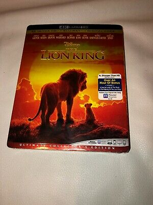 The Lion King 4K Ultra HD + Blu Ray + Digital code Brand New Factory Sealed