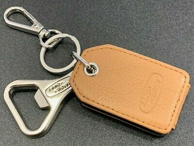 Genuine Land Rover Heritage Bottle Opener Key Ring. Tag Chain