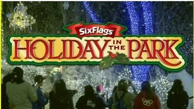 ☆4☆ FOUR☆ 2019 Six Flags Theme Park Single Day General Admission E-Tickets