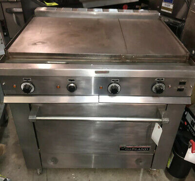 Garland 36ER32 36E Series Heavy Duty Electric Range Griddle Convection Oven