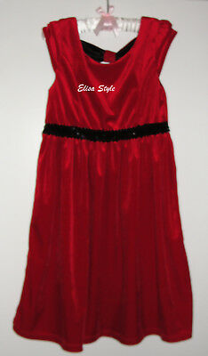 "Beautiful ""George"" Red Christmas party girls dress in size Large 10-12"