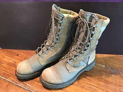 CORCORAN USAF Hot Weather Leather Boots 87257 MARAUDER Military Combat Men 7.5 M
