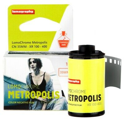 2 x Lomography Lomo LomoChrome Metropolis 100-400 ISO 35mm 36exp Color Film - US