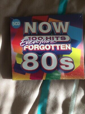 NOW 100 Hits  Even More Forgotten 80s - Bad Manners [CD)           FREE POSTAGE