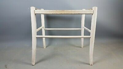 Arts and Crafts Stool Frame Stamped C