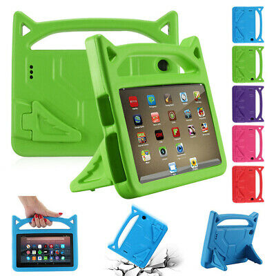 Kids Safe Handle Cover Stand Case For Amazon Kindle Fire HD 10 8 7 2019 9th Gen