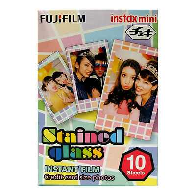 Fuji INSTAX mini STAINED GLASS Instant Film 04/2020