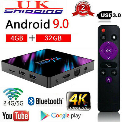 2020 H96 Pro MAX 4GB 32GB Android 9.0 TV Box 4K HD Smart Network Media Player