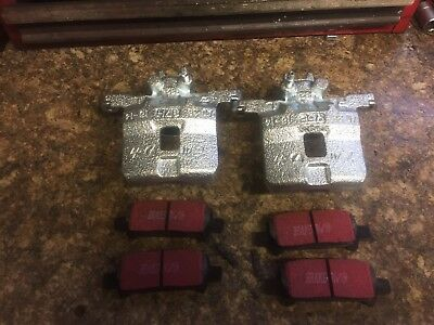 Subaru impreza Wrx Sti Rear Calipers Vented Without Carriers N Pins  Foresters