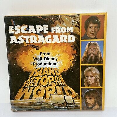 ESCAPE FROM ASTRAGARD ISLAND AT THE TOP OF THE WORLD SUPER 8mm FILM REEL Movie