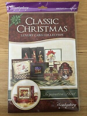 Hunkydory Crafts Classic Christmas Luxury Card Collection