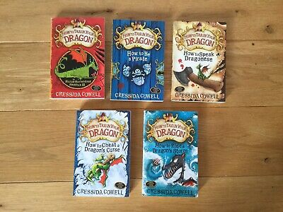 5 how to train your dragon books
