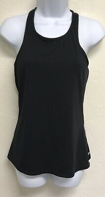 New FABLETICS Black//Frost NEVE Tank Top Gym /& Fitness Top SIZE SMALL//6